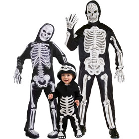 Skeleton Suit Costumes