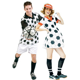 Soccer Player Costumes
