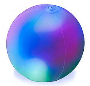 """SolarGLO Solar Powered 14""""Inflatable Ball"""