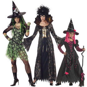 Spider Witch Costumes