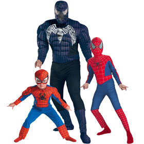 Spiderman Character Costumes
