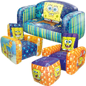 Captivating Spongebob Squarepants Inflatable Furniture