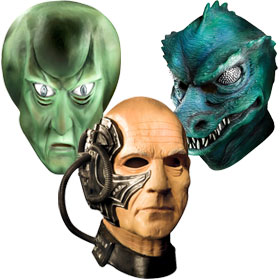 Star Trek Costume Masks