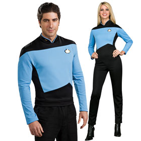 Star Trek: TNG Blue Science Uniforms