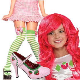 Strawberry Shortcake Costume Accessories