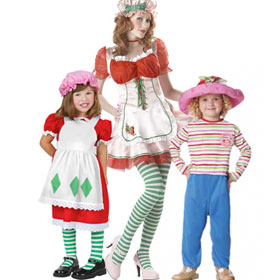 Strawberry Shortcake Costumes