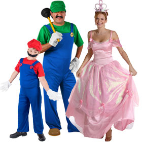Super Mario Costumes  sc 1 st  Brands On Sale & 80s Video Game Costumes | 80s Costumes | brandsonsale.com