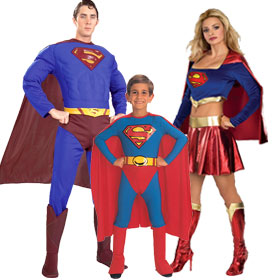 Superman Character Costumes