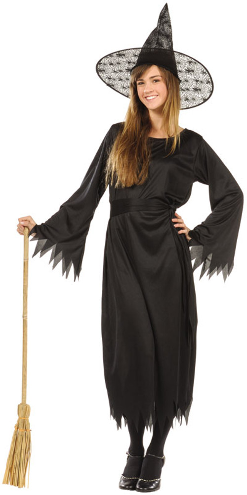 Teen Classic Witch Costume  sc 1 st  Brands On Sale & Teen Classic Witch Costume | Classic Black Witch Costumes ...