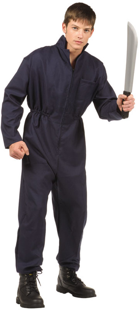 Teen Michael Myers Blue Overalls  sc 1 st  Brands On Sale & Teen Michael Myers Blue Overalls | Michael Myers Halloween Costumes ...