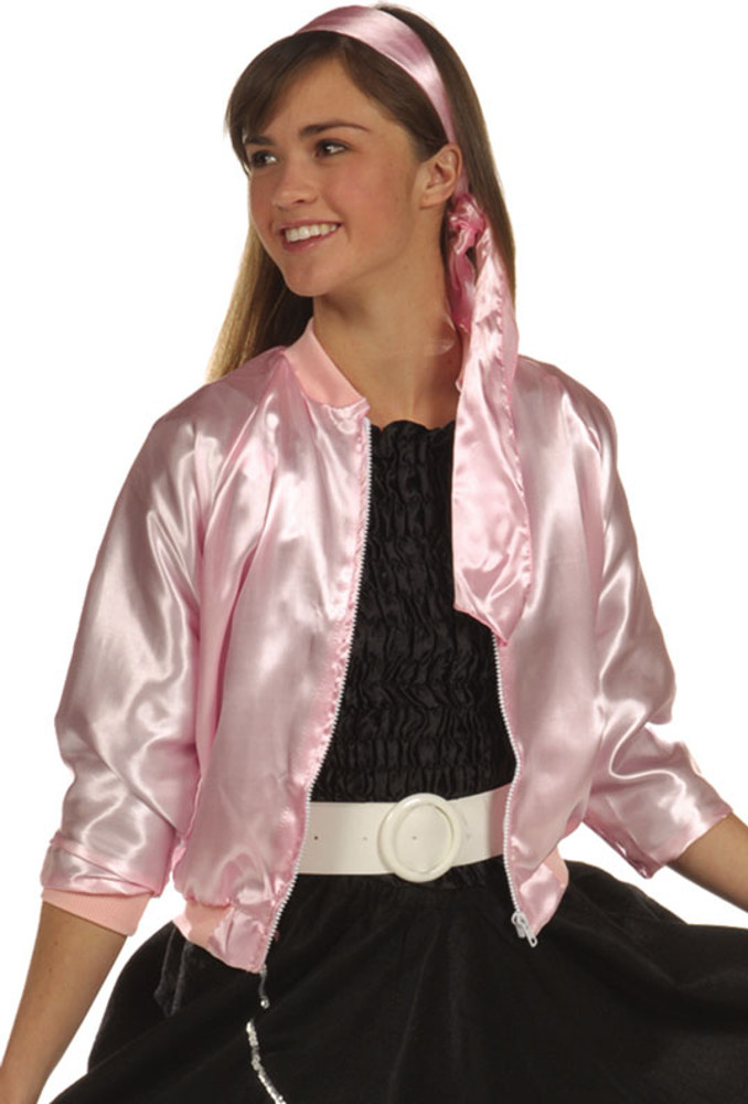 Teen Pink Lady Jacket  sc 1 st  Brands On Sale : pink ladies costumes  - Germanpascual.Com