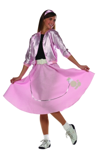Teen Poodle Skirt Costume