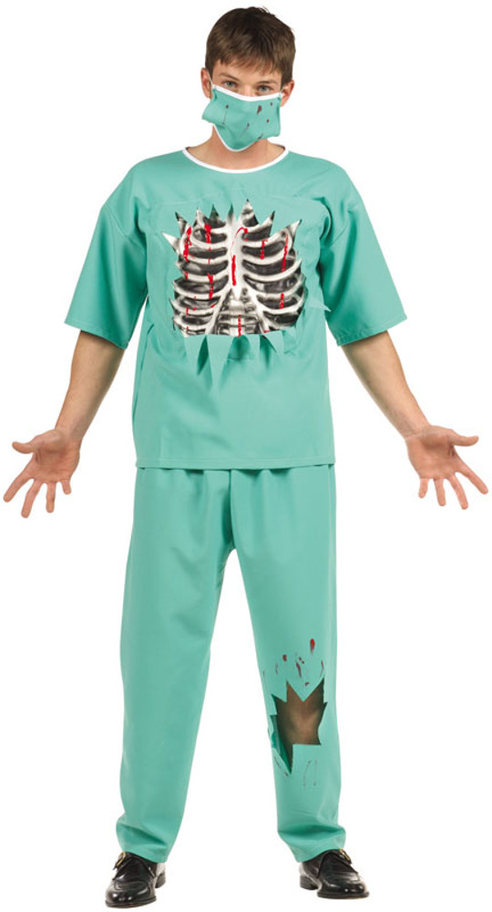 Teen Boys Scary E.R. Doctor Costume