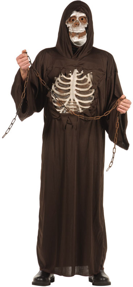 Teen Boys Skull Ruler Costume