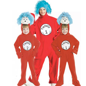 Thing 1 & Thing 2 Costumes