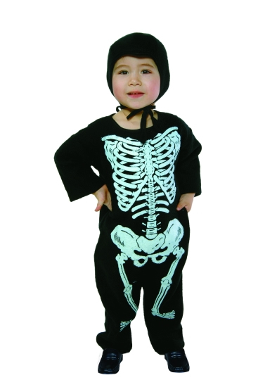 Toddler Lil Bones Pajama Costume