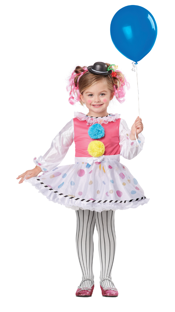 Toddler Bubbles The Clown Costume Halloween Clown Costumes