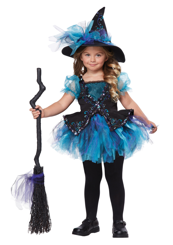 Toddler Darling Little Blue Witch Costume