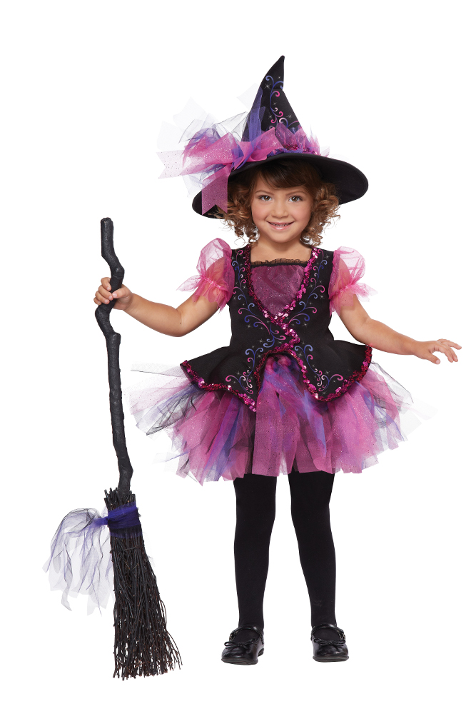 Toddler Darling Little Pink Witch Costume
