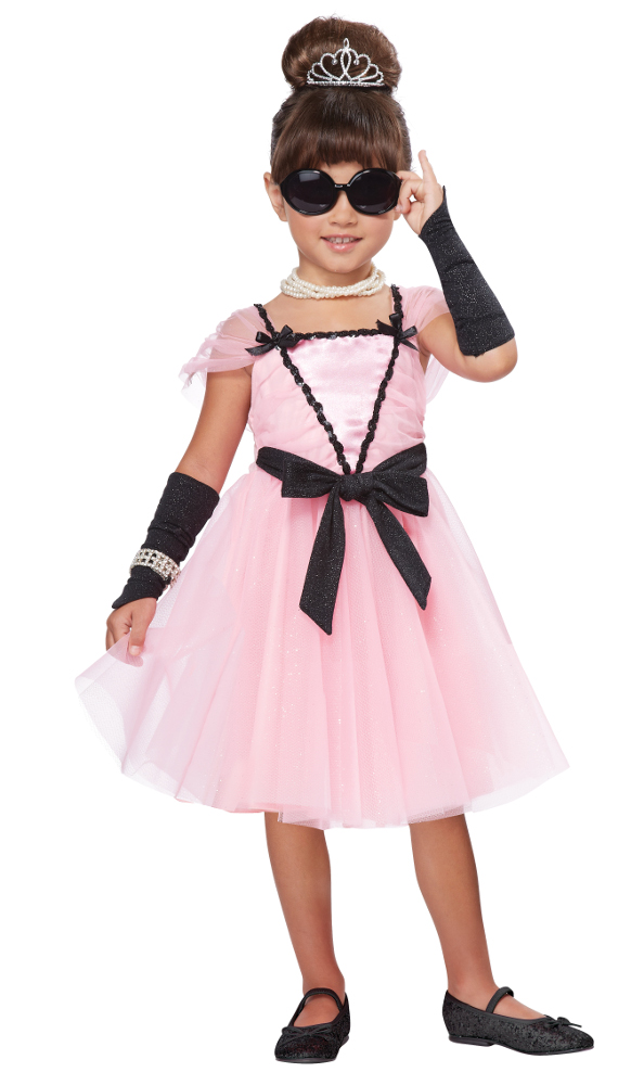 Toddler Movie Star Costume Classic 50s Girl Costumes