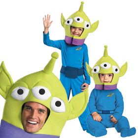 Toy Story Alien Costumes