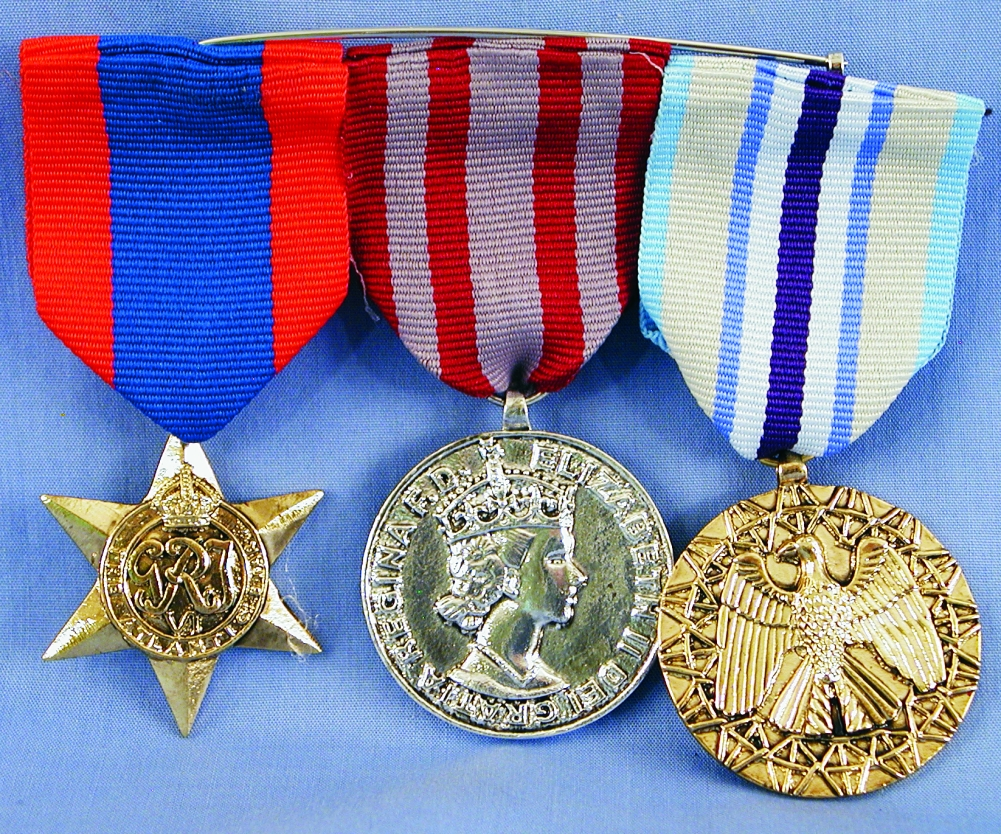 Triple War Medal