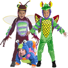 Unique Insect Costumes