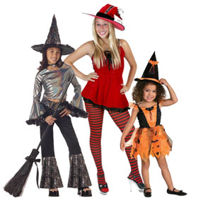 Unique Witch Costumes