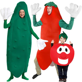 Vegetable Costumes