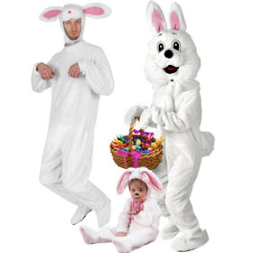 White Bunny Costumes
