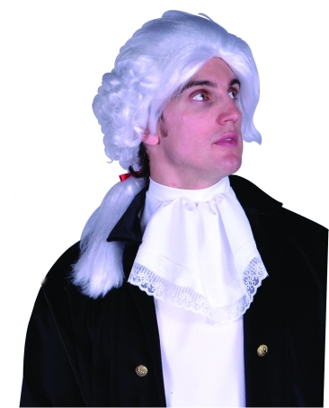 White Colonial Wig
