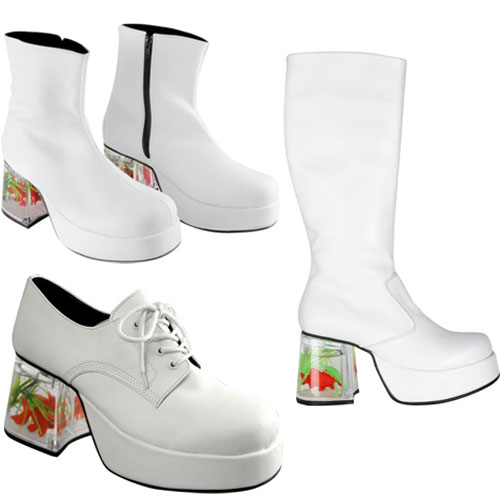 White Fish Tank Shoes