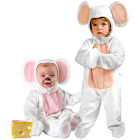 White Mouse Costumes