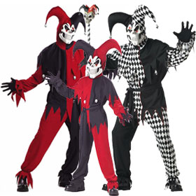 Wicked Jester Costumes