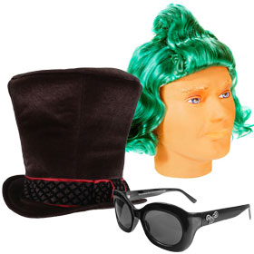 Willy Wonka Costume Accessories