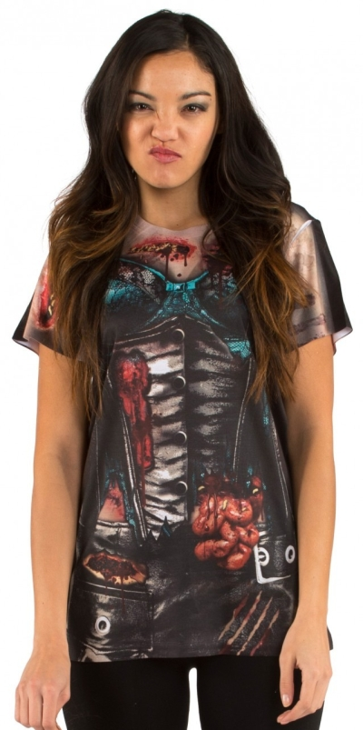 Women's Zombie Costume T-Shirt