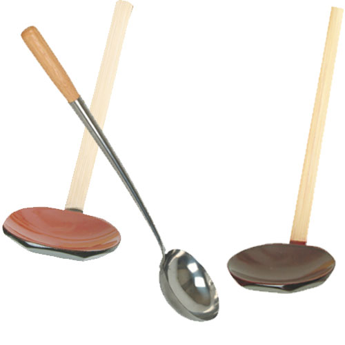 Wooden Chinese Soup Ladles
