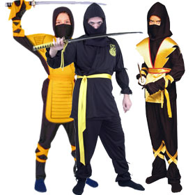 Yellow Ninja Costumes