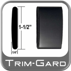 "1-1/2"" Wide Black (Gloss) Body Side Molding Sold by the Foot, Trim Gard® # CMV02-01"