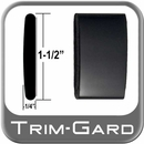 "1-1/2"" Wide Black (Gloss) Body Side Molding Sold by the Foot Trim Gard® #CMV02-01"
