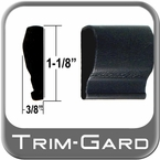 "1-1/8"" Wide Black Body Side Molding Sold by the Foot, Trim Gard® # 1102NT-01"