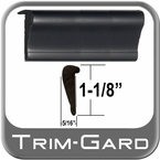 "1-1/8"" Wide Black Wheel Molding Trim Sold in 20 Foot Rolls, Trim Gard® # WXL02-20"