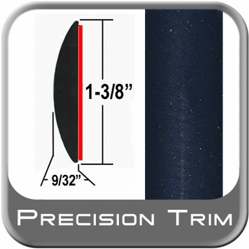 "1-3/8"" Wide Blue (Dark) Molding Trim (PT28) Sold by the Foot Precision Trim® #17100-28-01"