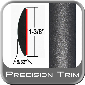 "1-3/8"" Wide Gray (Dark) Molding Trim (PT49) Sold by the Foot Precision Trim® #17100-49-01"