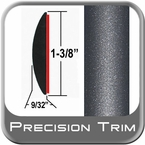 """1-3/8"""" Wide Gray (Dark) Molding Trim (PT84) Sold by the Foot Precision Trim® #17100-84-01"""