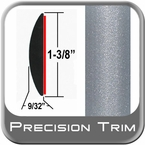 "1-3/8"" Wide Silver Molding Trim (PT37) Sold by the Foot Precision Trim® #17100-37-01"