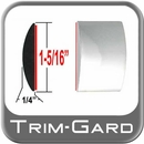 """1-5/16"""" Wide Chrome Body Side Molding Sold by the Foot, Trim Gard® # 1401-01"""