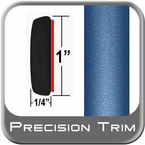 "1"" Wide Blue Molding Trim (PT07) Sold by the Foot Precision Trim® #11100-07-01"