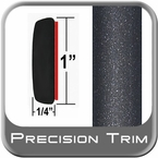 "1"" Wide Gray (Dark) Molding Trim (PT08) Sold by the Foot Precision Trim® #11100-08-01"