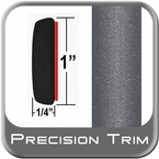 "1"" Wide Gray Molding Trim (PT83) Sold by the Foot Precision Trim® #11100-83-01"